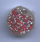 Acryl Strass rot